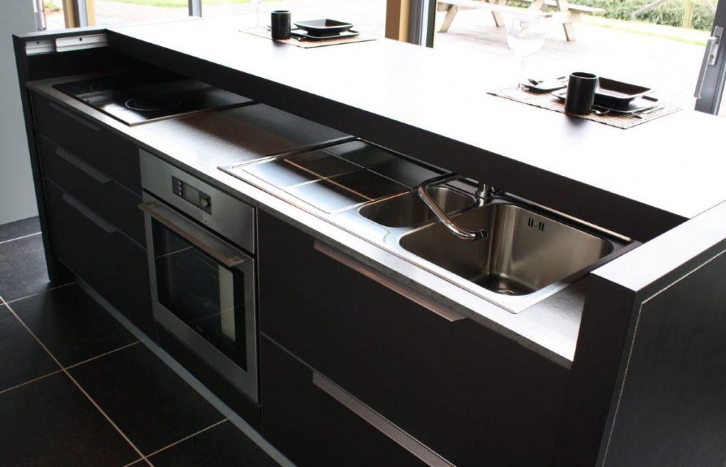 Een moderne en trendy actie keuken van stienstra keukens - Oude en moderne keuken ...